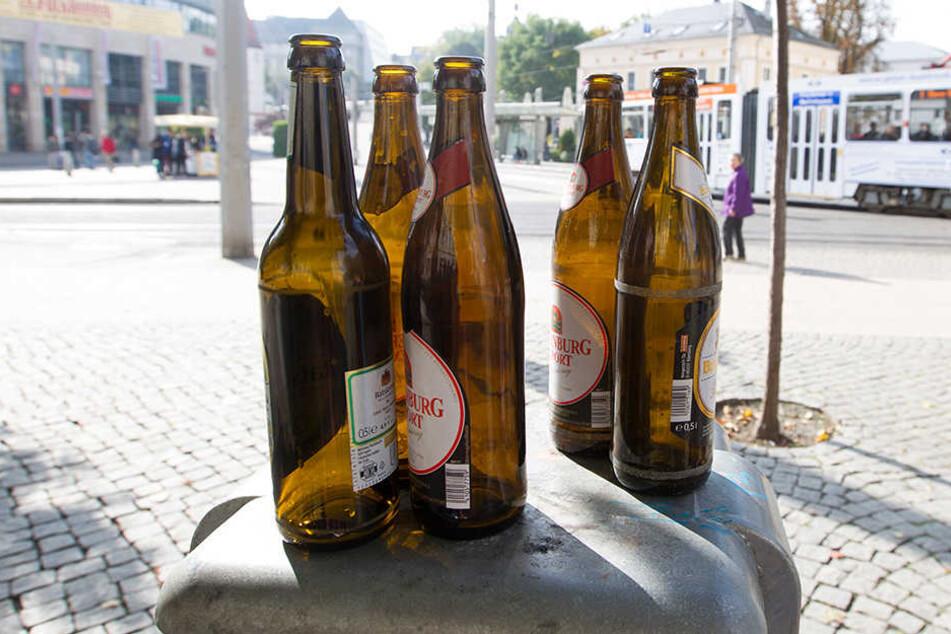 Ab Montag ist Alkohol in Plauen rund um Post- und Lutherplatz verboten.
