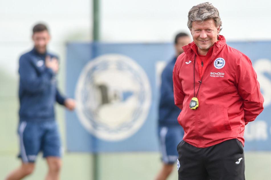 DSC-Trainer Jeff Saibene nimmt alle Spieler fit aus dem spanischen Trainingslager mit nach Bielefeld.