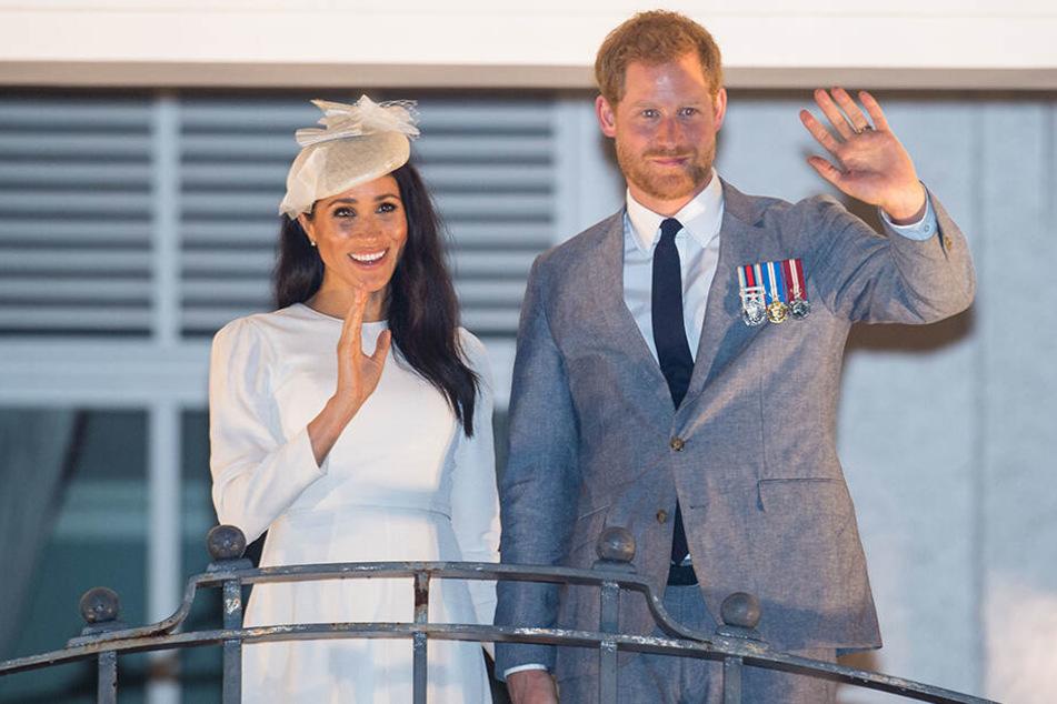Herzogin Meghan und Prinz Harry sind Eltern geworden.