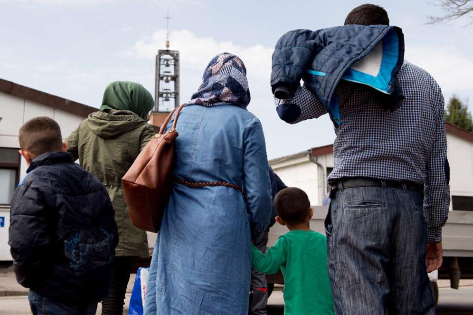 Verschiedene Aktionen wollen für den Familiennachzug von Flüchtlingen werben. (Symbolbild)