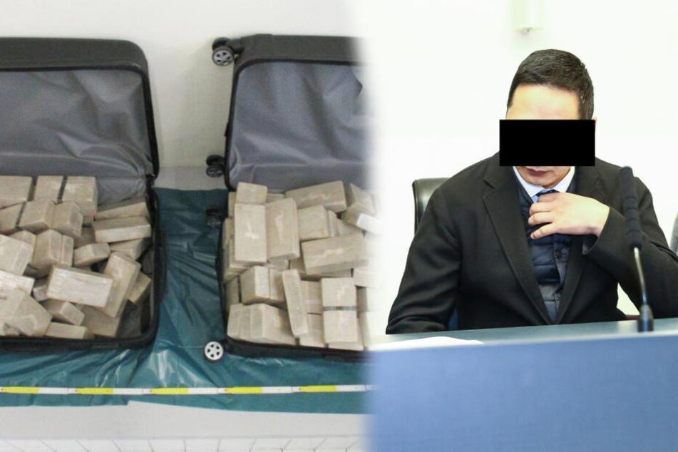70 Kilo Drogen im Diplomaten-Gepäck: Mongolen drohen neun Jahre Haft!