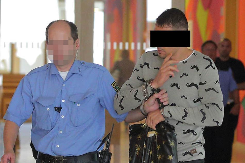 Lulzim G. (32) ist Vater von zwei Kindern. Nun droht ihm Haft.