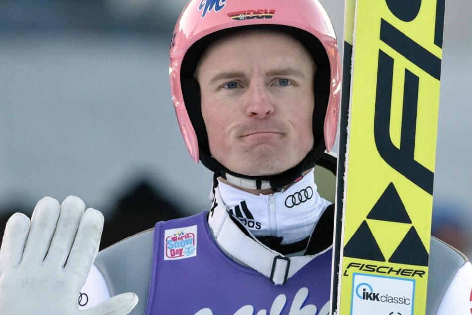 Der deutsche Skispringer Severin Freund.