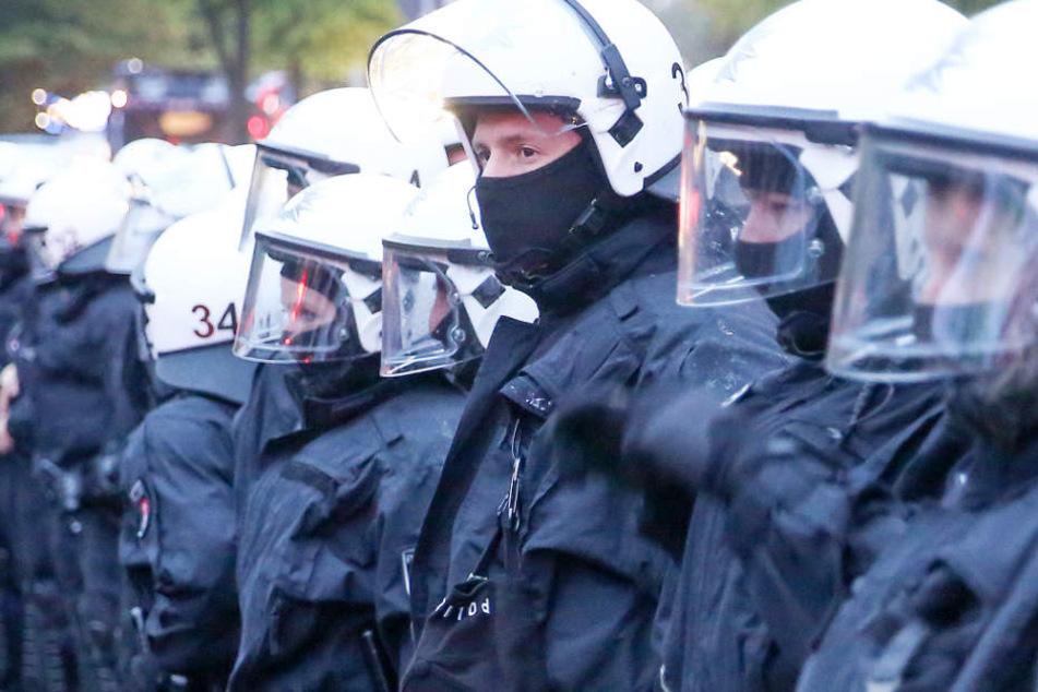 Für diese Polizisten soll es bald eine Kennzeichnungspflicht geben