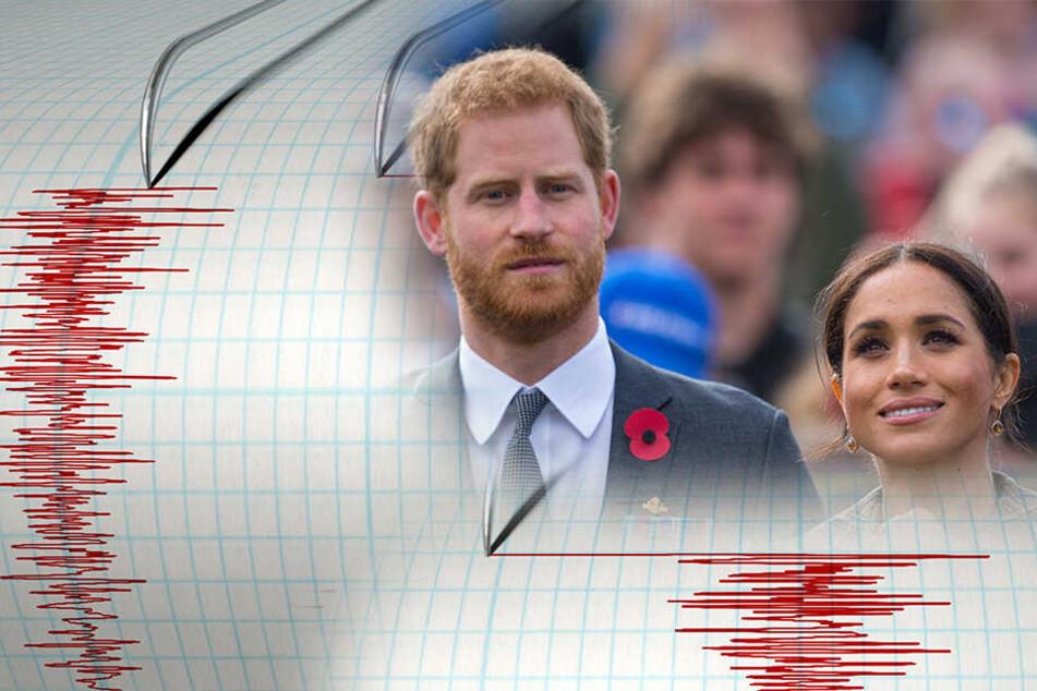 Während Besuch von Harry und Meghan: Erdbeben erschüttert Insel