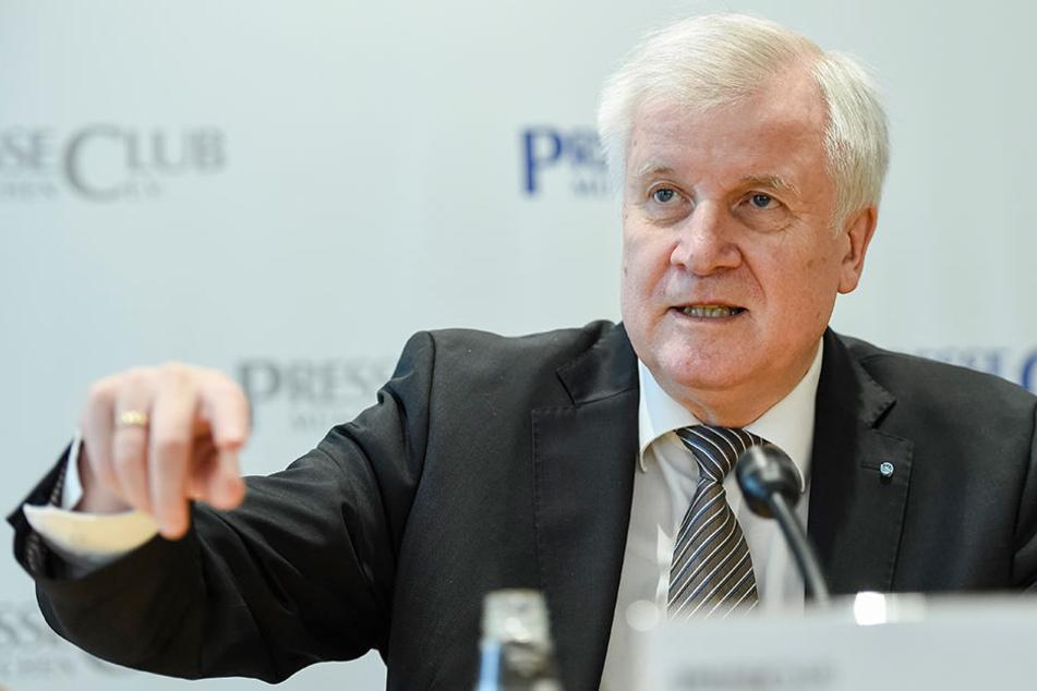 Horst Seehofer wird am 13. März das Amt desn bayrischen Ministerpräsidenten an Marcus Söder übergeben.
