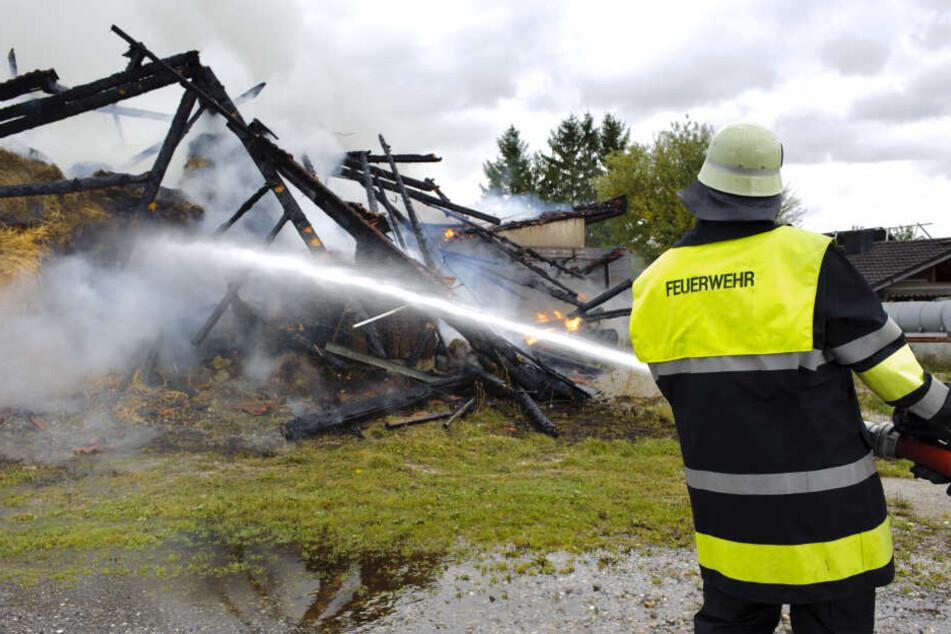 Der Mann soll etwa 40 Brände gelegt haben, so die Ermittler. (Symbolbild)