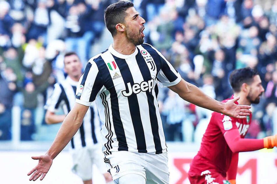 Erlebt bei Juventus Turin seinen zweiten Frühling: Sami Khedira.