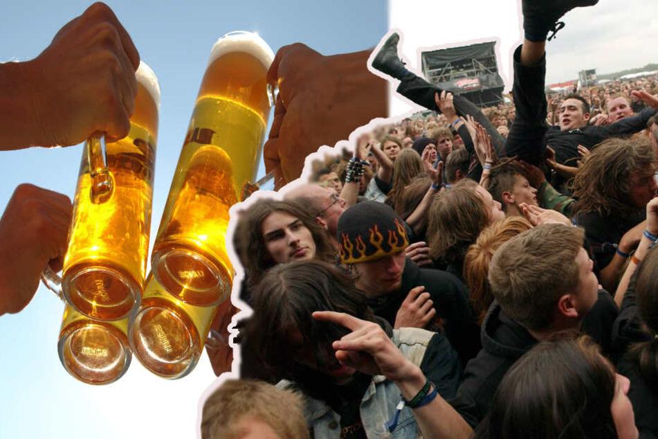 Marke statt Dosenbier: Bald kann auf dem Full Force stilecht getrunken werden.