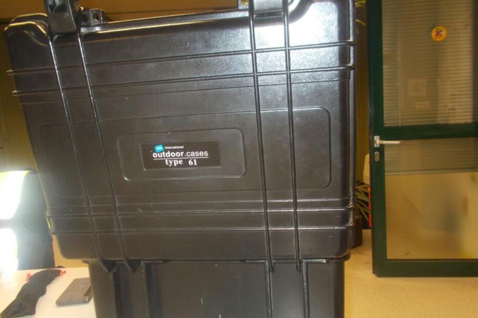 Der Koffer für die Drohne.