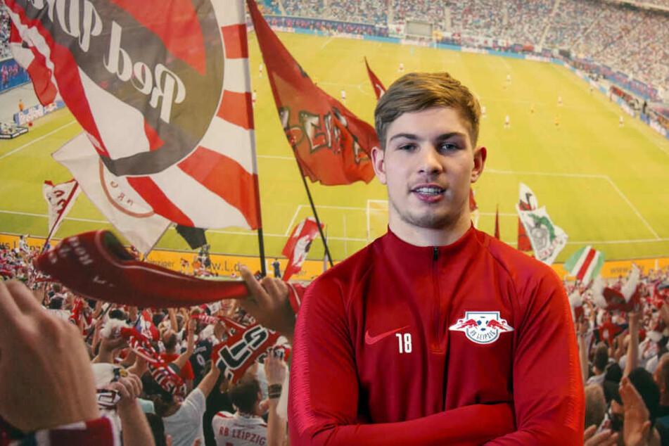 Emile Smith Rowe könnte den Roten Bullen gegen Wolfsburg zum Sieg verhelfen.