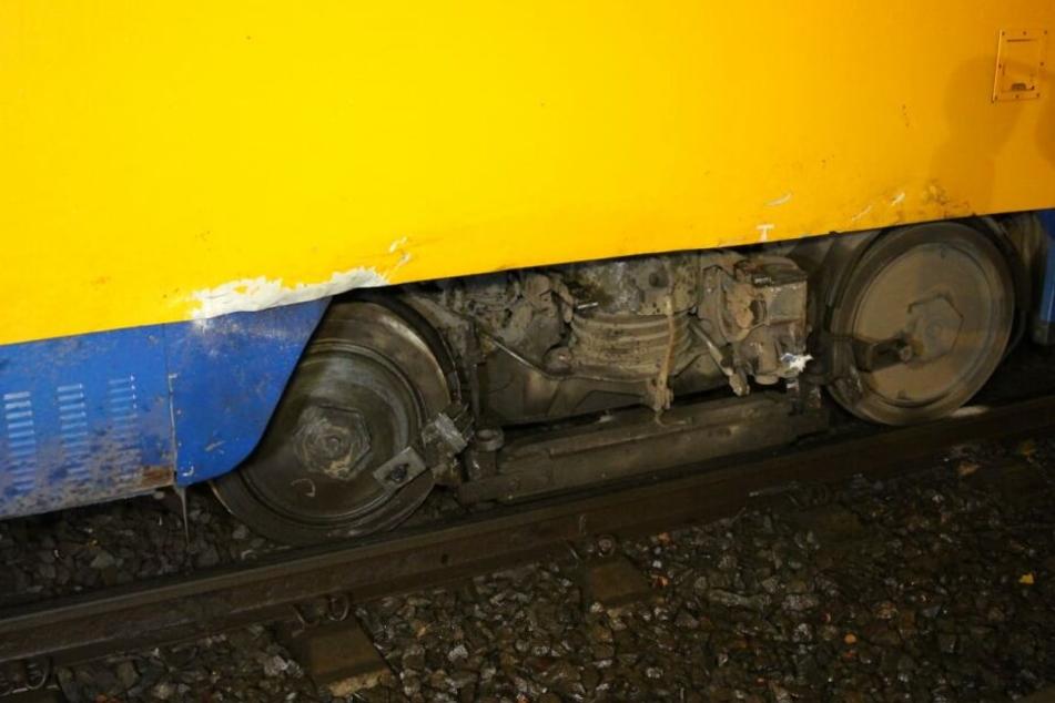 In der Bahn selbst wurde kein Passagier verletzt.