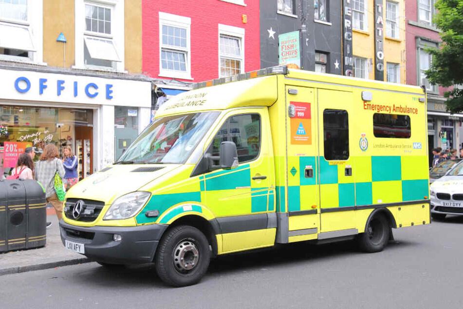 Britische Rettungskräfte im Einsatz. (Symbolbild)