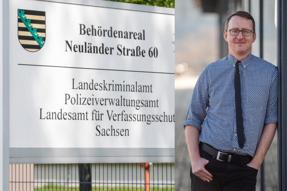 Querelen um Sachsens Verfassungsschutz: Grüne fordern Neustart und Teilung