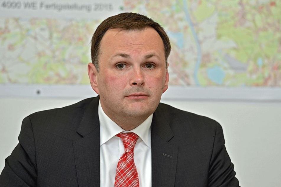 André Schollbach (40, Linke) hatte die Ermittlungsverfahren im Rahmen der PEGIDA-Einsätze angefragt.