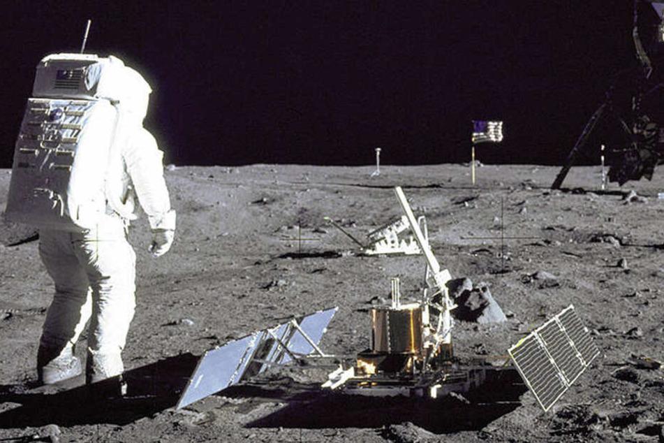 Erbrochenes in Tüten, Urinbehälter, Schrott: Menschlicher Müll auf dem Mond