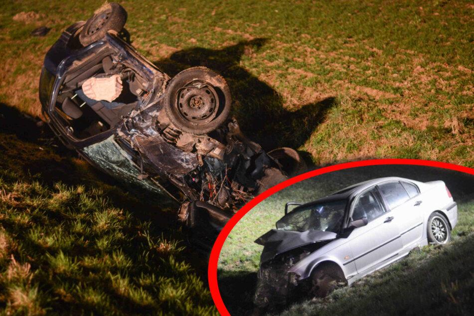 Heftiger Unfall auf der B6: Mehrere Schwerverletzte, Kinder mit Schutzengel!
