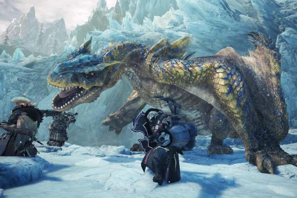 In einem neuen Gebiet, der Hoarfrost Reach, begebt ihr Euch darin erneut allein oder mit bis zu drei Mitspielern auf Monsterjagd.