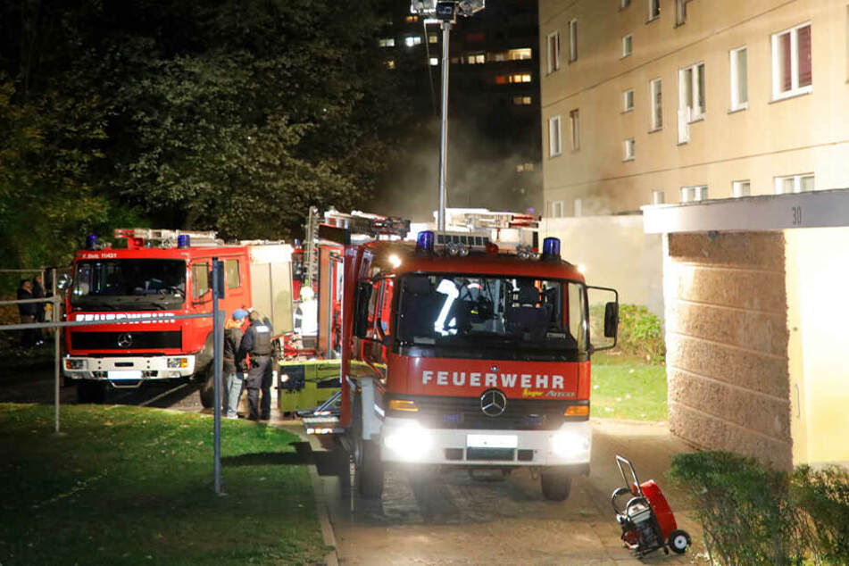 Chemnitz: Brand im Chemnitzer Heckert-Gebiet: Das löste das Feuer im Elfgeschosser aus