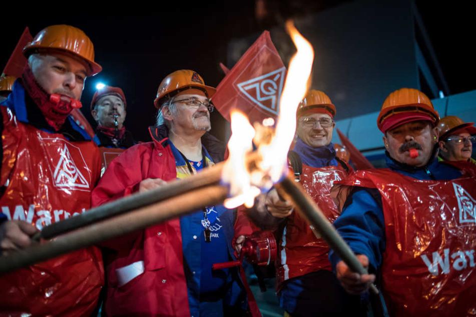 Die Streiks gehen in die nächste Runde. (Symbolbild)
