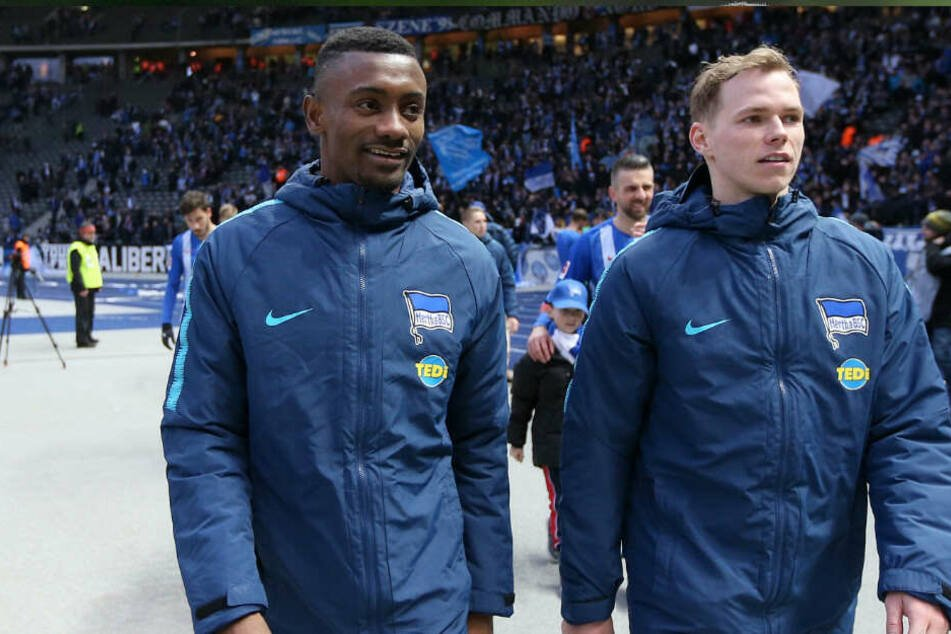 Salomon Kalou (l) wird wohl wie Ondrej Duda (r) Hertha BSC verlassen.