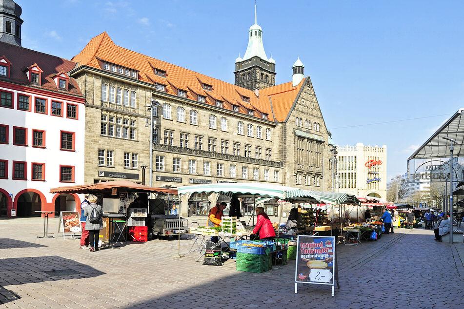 Wochenmarkt Chemnitz