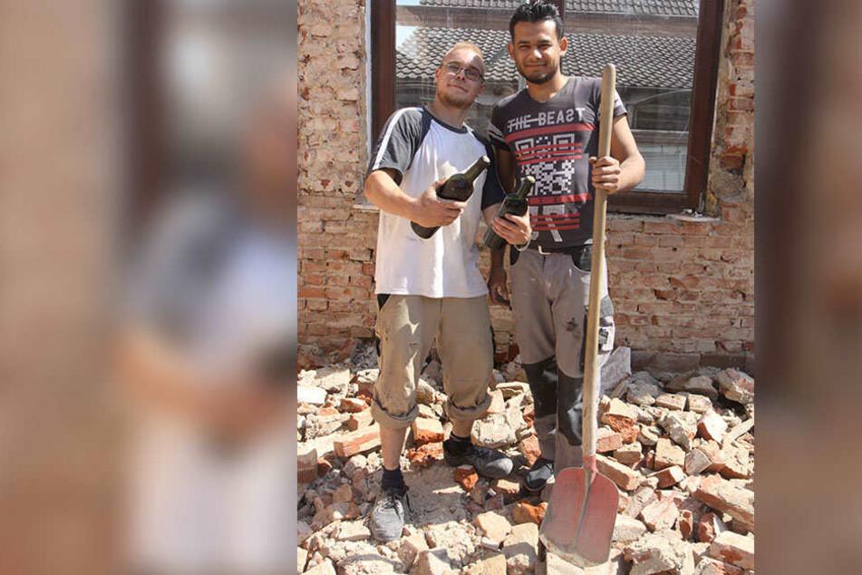Ungewöhnlicher Fund: Bauarbeiter entdecken mehr als 70 Jahre alten Wein