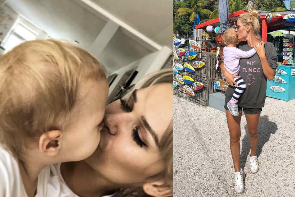 Sara Kulkas jüngste Tochter feierte in der vergangenen Woche ihren zweiten Geburtstag.