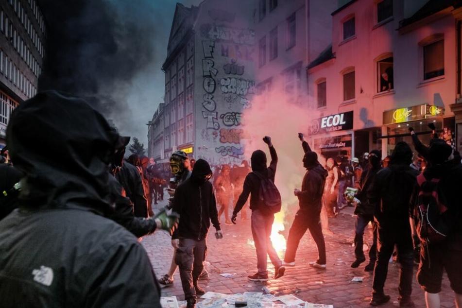 Zweieinhalb Jahre nach G20-Krawallen: Noch Tausende Strafverfahren