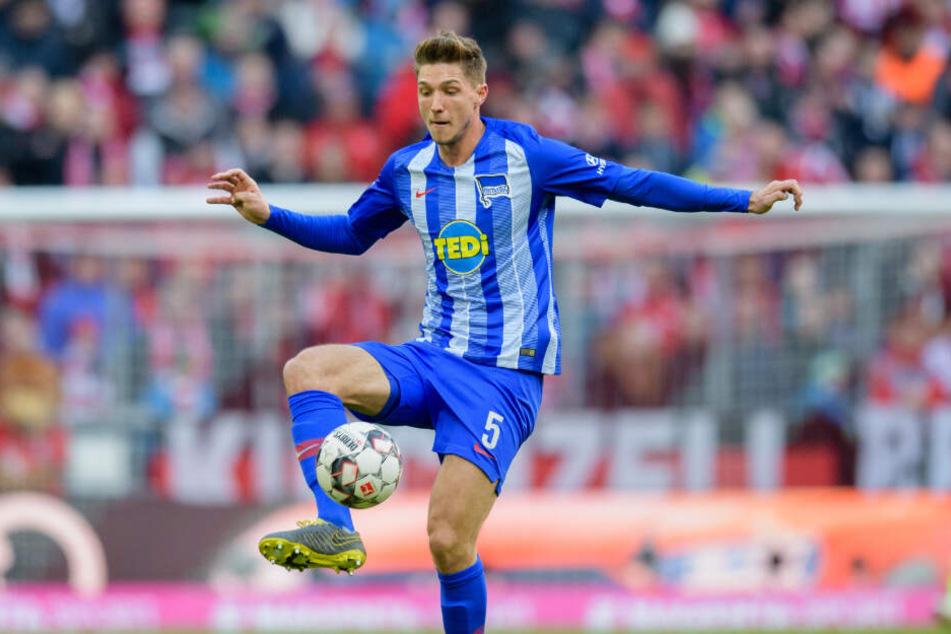 Niklas Stark absolvierte in der abgelaufenen Saison 22 Bundesliga-Spiele und erzielte ein Tor.
