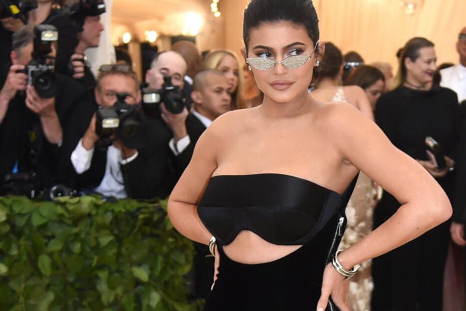 Kylie Jenner (21) bei der Met Gala im vergangenen Jahr in New York.