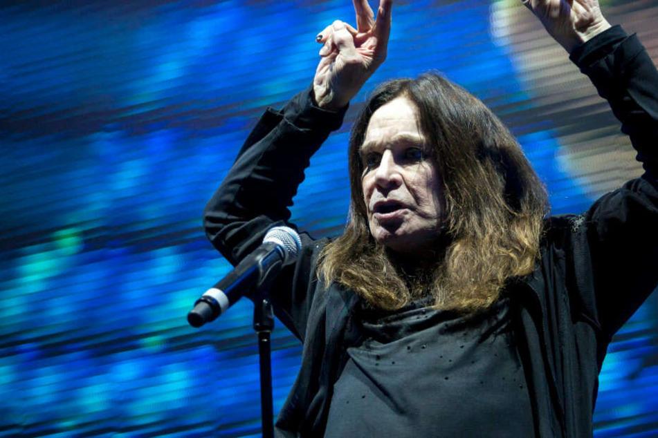 Schwere Infektion: Ozzy Osbourne sagt Europa-Tournee ab