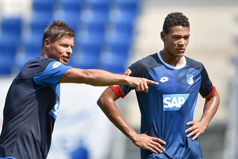 Der Wechsel 2015 nach Hoffenheim kam für Joelinton (r.) noch zu früh.
