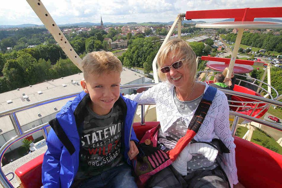 Corina Lehmitz (47) und Sohn Lukas (11)