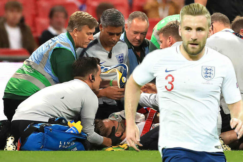 Heftiger Zusammenprall überschattet Topspiel: So steht es um den England-Star