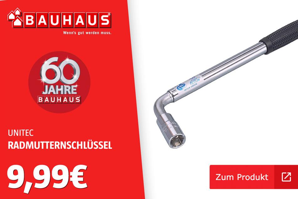 Teleskop-Radmutternschlüssel für 9,99 Euro