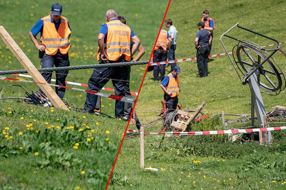 Drama bei Wartungsarbeiten an Gondelbahn: Mann wird von Seil getroffen und stirbt