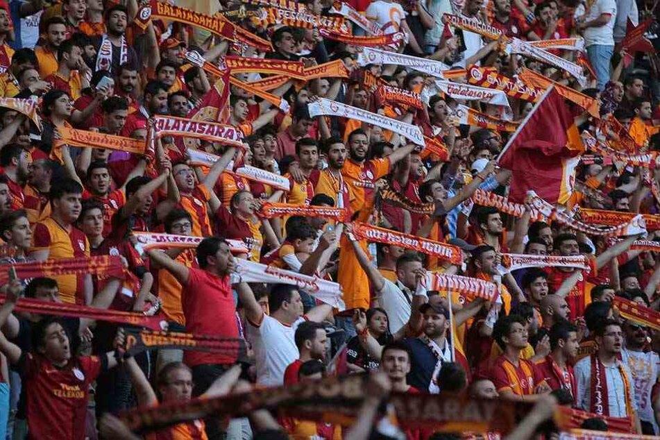 Fans von Galatasaray Istanbul.