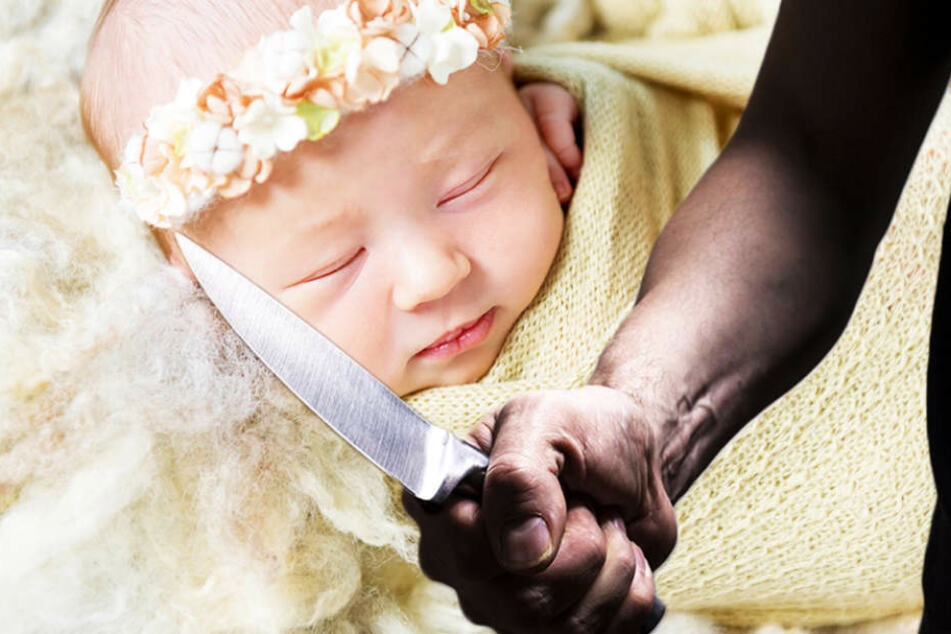 Gerade aus Psychiatrie entlassen: Mann köpft Baby