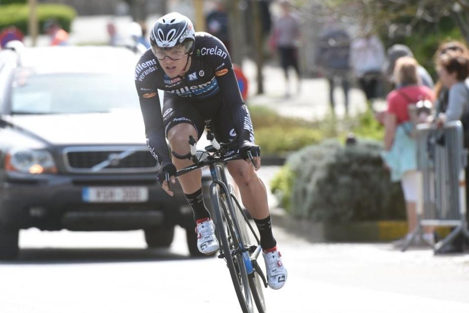 Michael Goolaerts bei einem Rennen