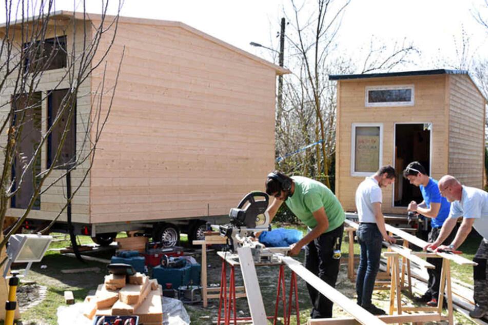 Kurios: Für 10.000 Euro könnt ihr euch ein solches Mini-Haus ...