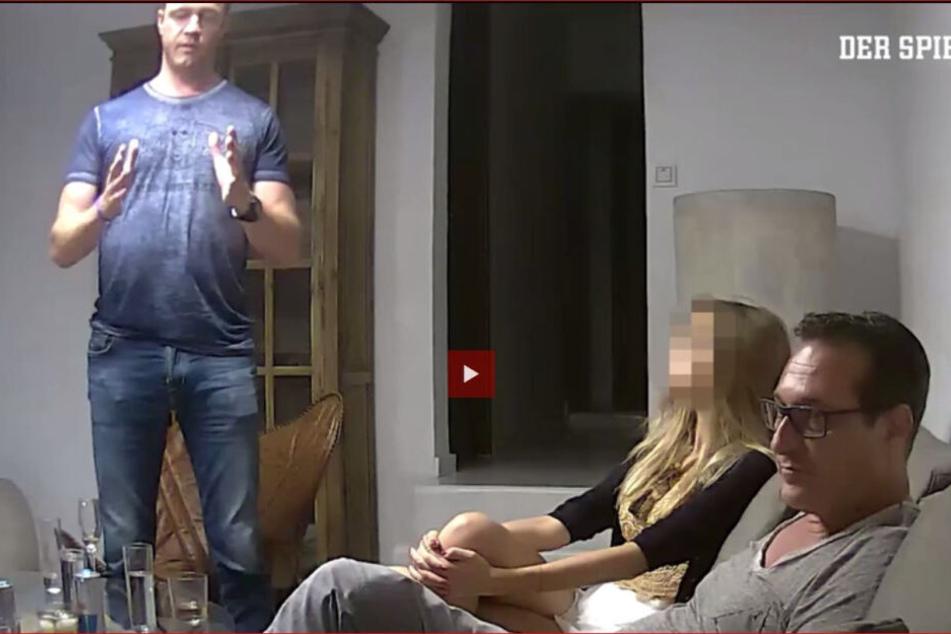 Ausschnitt aus dem Ibiza-Video, das die ÖVP/FPÖ-Koalition in Österreich sprengte.