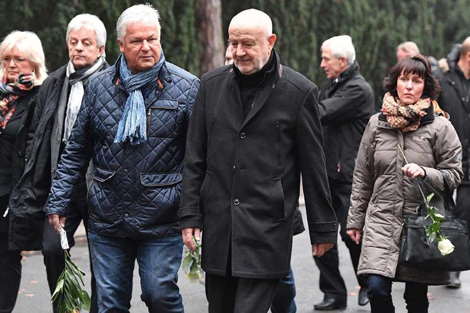Rainer Sachse, Wieland Ziller, Hans-Jürgen Kreische (Mi.) und rechts hinter Kreische Christoph Franke.