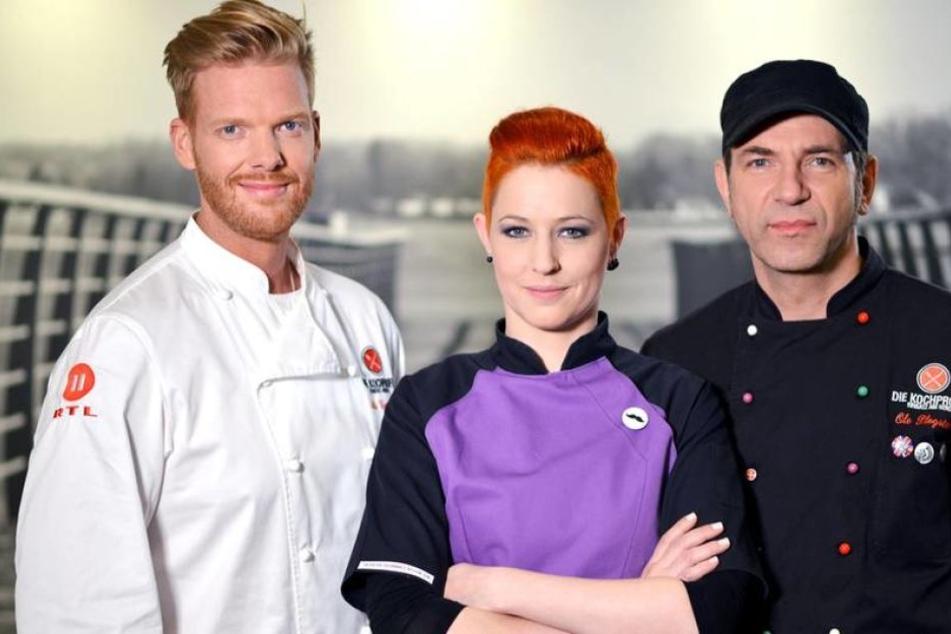 Kochprofis oder Schauspieler? Meta Hiltebrand, Ole Plogstedt und Nils Egtermeyer waren eine Woche lang bei Christine in Mohrkirch.