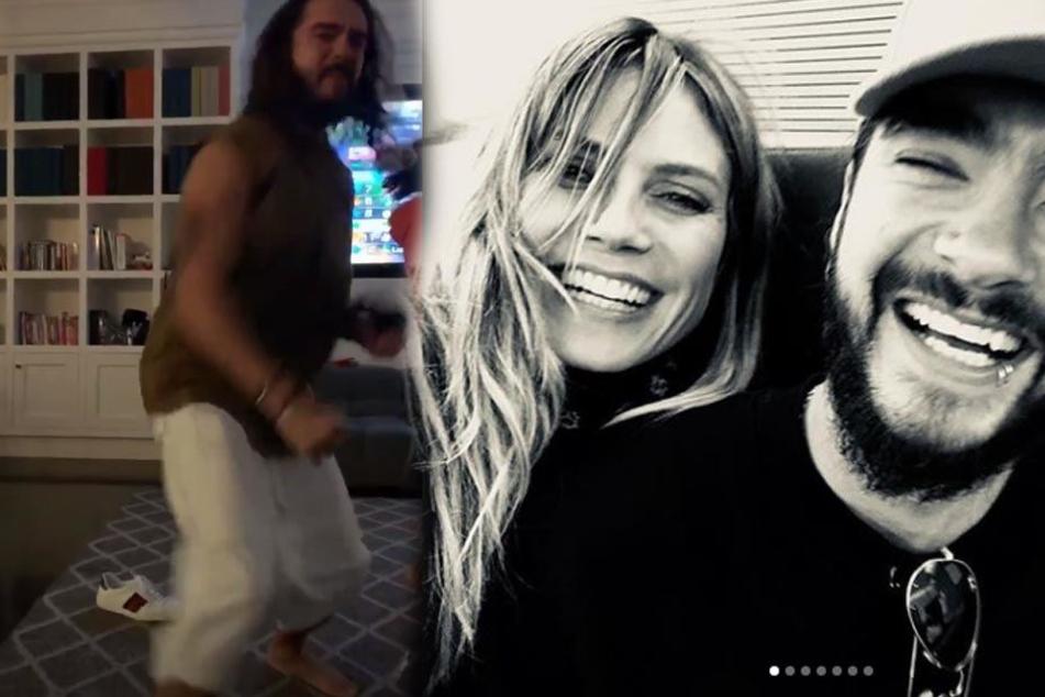 Liebes-Show geht weiter! Heidi Klum zeigt ihren Tom in merkwürdiger Hose