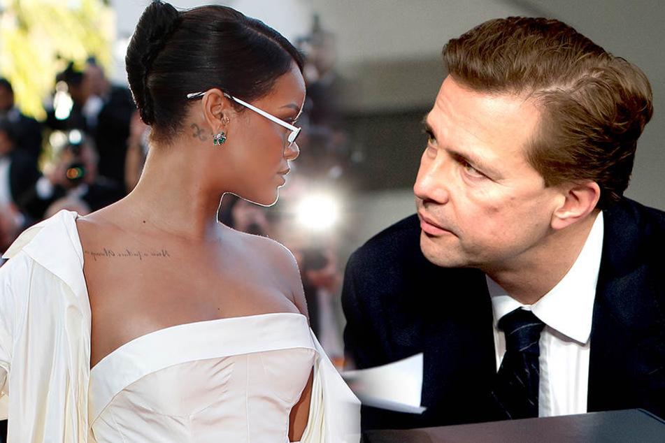 Was läuft zwischen Rihanna und dem deutschen Regierungssprecher?
