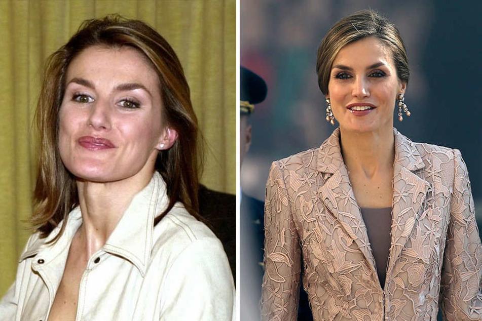 Seit ihrem Eintritt in die spanische Königsfamilie hat sich Letizia nicht nur äußerlich verändert.