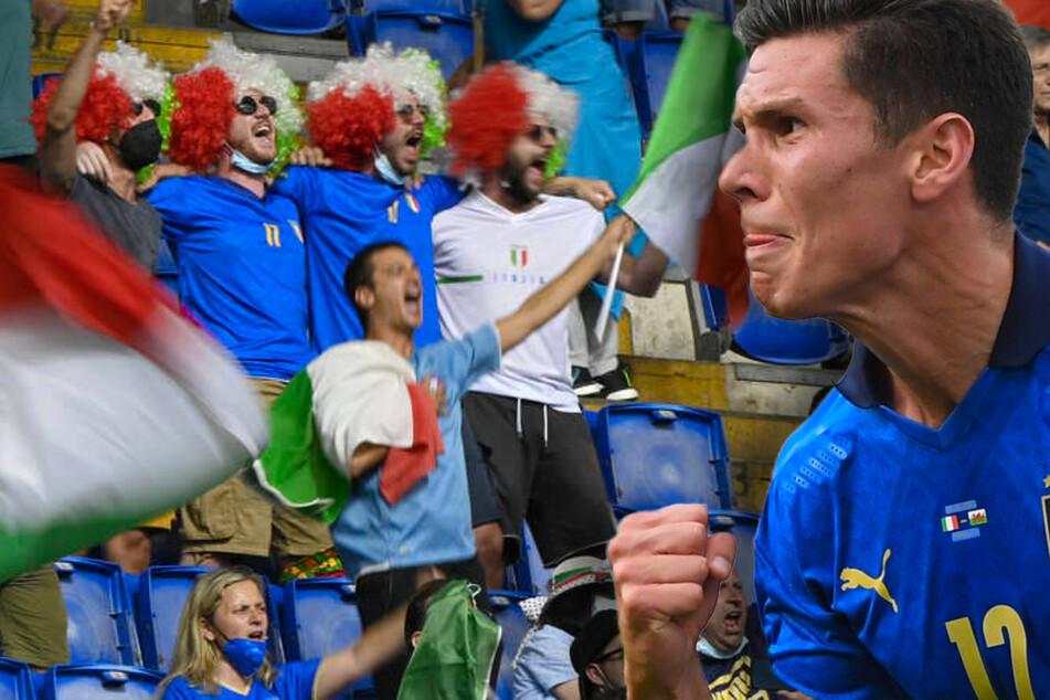 Perfekte Punkteausbeute! Italien nach Erfolg gegen Bale und Wales souveräner Gruppensieger