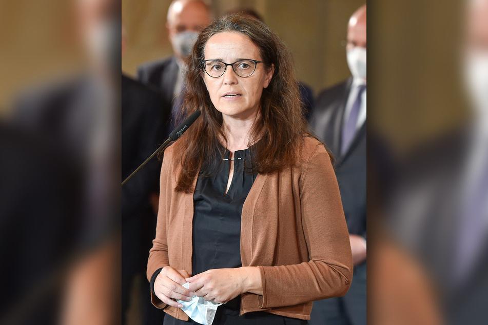Stellte am gestrigen Dienstag Sachsens Herbst-Plan vor: Gesundheits-Staatssekretärin Dagmar Neukirch (58, SPD).