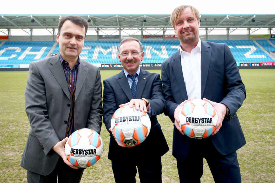 Alle weg: Dr. Mathias Hänel, Herbert Marquard und Stefan Bohne (v.l.) haben inzwischen das sinkende CFC-Schiff verlassen.